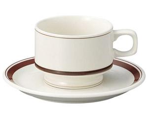 カントリーサイド ダークブラウン スタックコーヒーカップ
