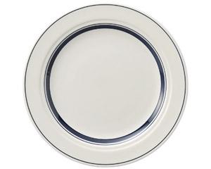 カントリーサイド ネイビーブルー 25.5cmディナー皿