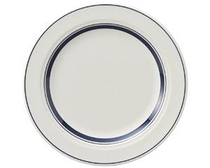 カントリーサイド ネイビーブルー 23cmミート皿