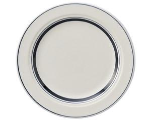 カントリーサイド ネイビーブルー 21cmミート皿