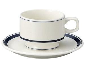カントリーサイド ネイビーブルー スタックコーヒーカップ