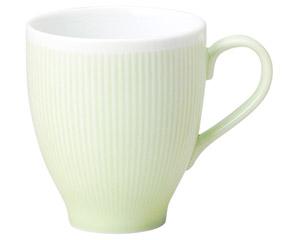 カラーリフレクション グリーンマグカップ