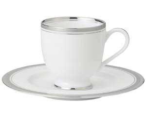 シルバーリッチ コーヒー受皿のみ