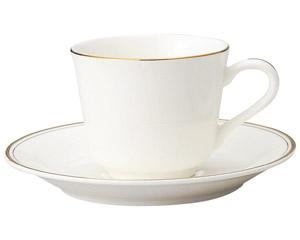 ハイテクゴールド コーヒー碗と受皿