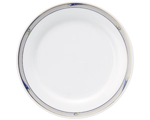 ブルーウェーブ 10吋ディナー皿