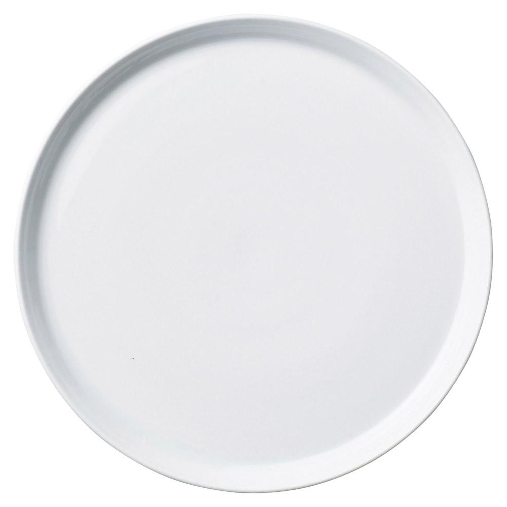 プラット ホワイト 25cm皿