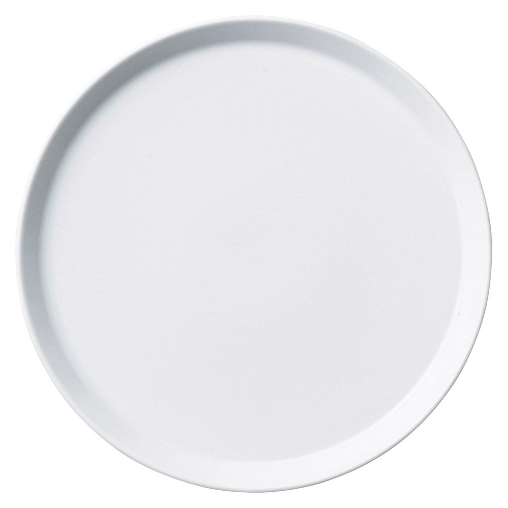 プラット ホワイト 22cm皿