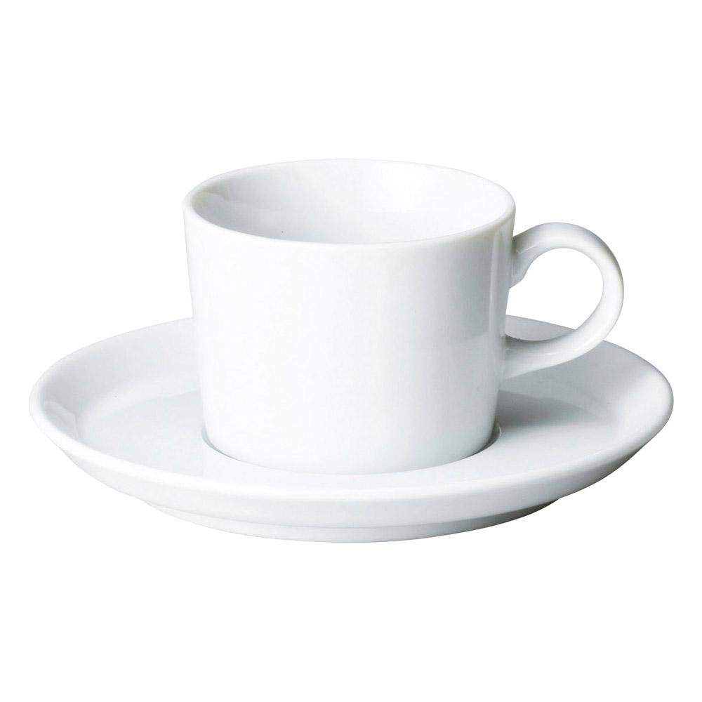 プラット ホワイト コーヒー碗