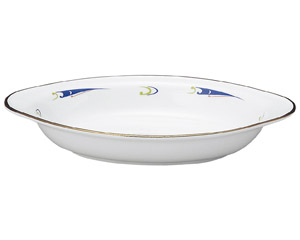 ブルーウェーブ グラタン皿