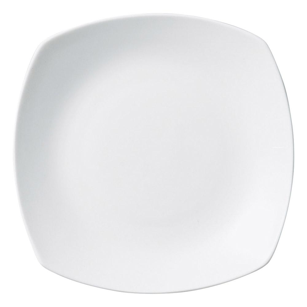 シルキーホワイト 角皿 L 画像