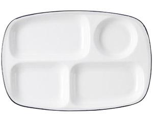 サークル ランチ皿(大)