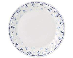 プリティブルー 6.5吋パン皿(エクセラガーデンブルー)