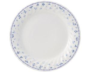 プリティブルー 10.5吋ディナー皿(エクセラガーデンブルー)