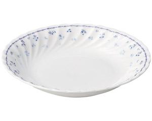 プリティブルー 8.5吋スープ(エクセラガーデンブルー)