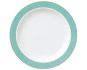 エメラルドグリーン 9吋ミート皿
