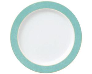 エメラルドグリーン 10吋ディナー皿