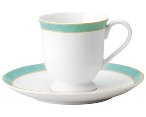 エメラルドグリーン コーヒーカップのみ