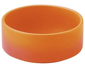 バーニャカウダ 直火用 深型ソースディッシュ オレンジ