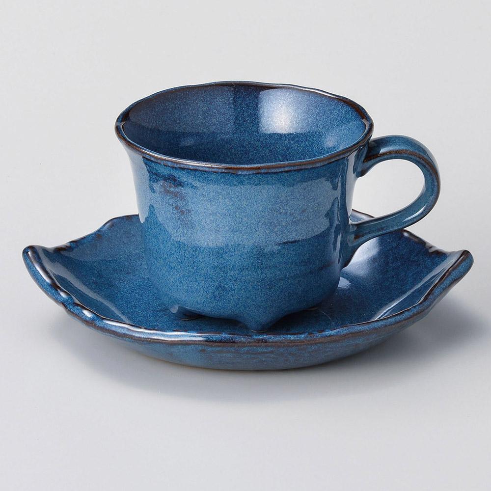 なまこ木葉コーヒー受皿のみ(カップ別売)
