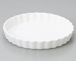 ルナホワイト 26cmパイ皿