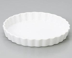 ルナホワイト 18.5cmパイ皿