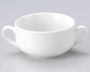 新白磁両手スープカップのみ