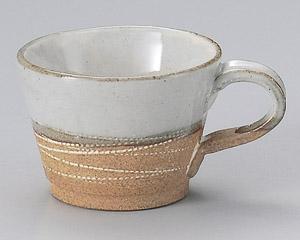 乱線彫りコーヒーカップのみ