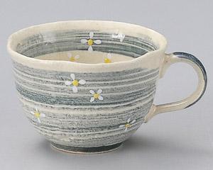 流水小花(青)コーヒーカップのみ