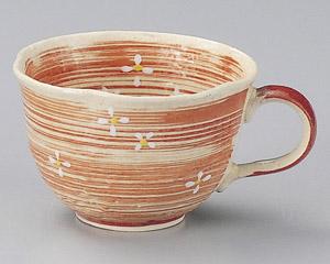 流水小花(赤)コーヒーカップのみ