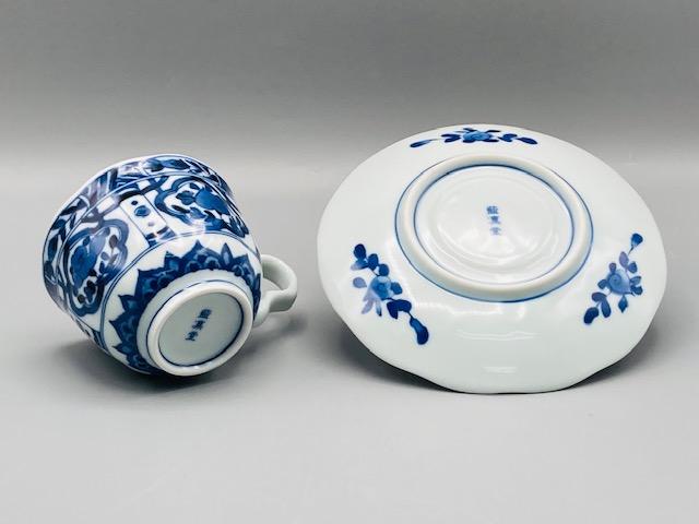 桃花コーヒー碗皿(在庫15限り) サムネイル3