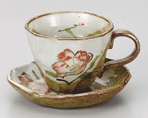 山茶花コーヒーカップのみ