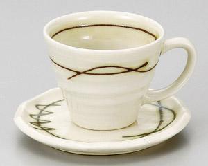 緑線コーヒーカップのみ