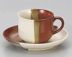 赤塗分コーヒーカップのみ