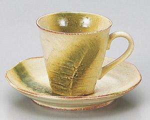 黄織部けずりコーヒーカップのみ