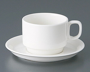 ボンスタック紅茶カップと受皿