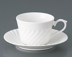 ネジ紅茶カップと受皿