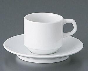 BASICスタックコーヒーカップと受皿