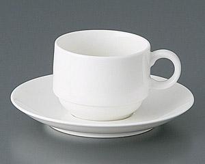 エルキュールスタックコーヒーカップと受皿