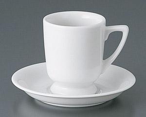厚口高台カップと受皿