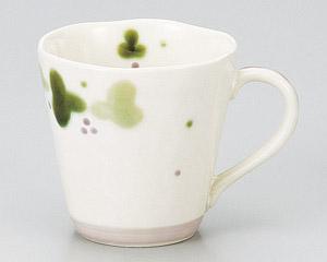 緑彩ぶどうマグカップ(紫)