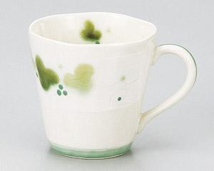 緑彩ぶどうマグカップ(緑)