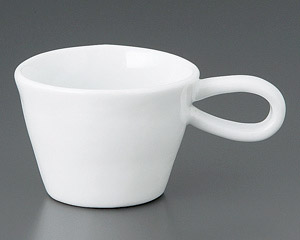 ホワイト長手マグカップ