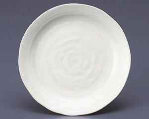 クラフト粉引8.0皿