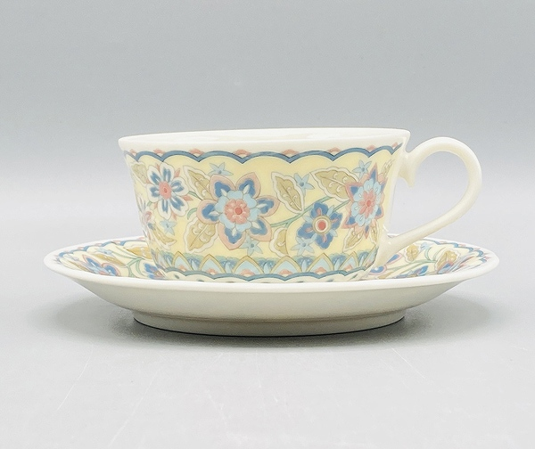 ペルシャ菊紅茶碗皿(在庫15限り) 画像