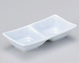 スワン 青磁二品皿(小)