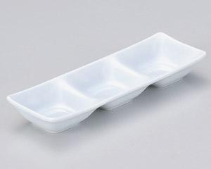 スワン 青磁三品皿