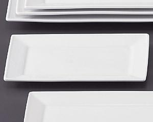 SQ ピュアホワイト25cm長角皿