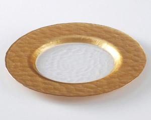 ゴールドリムプレート28cm