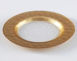 ゴールドリムプレート22.5cm