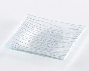 ガラス正角プレートS